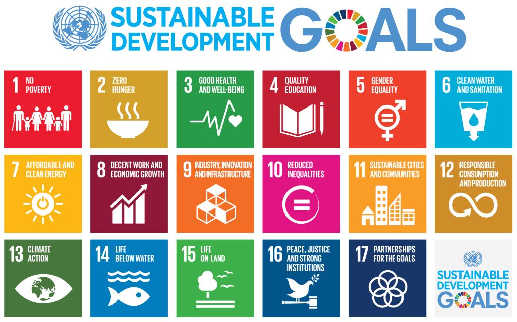 17 sustainable dev goals UN1